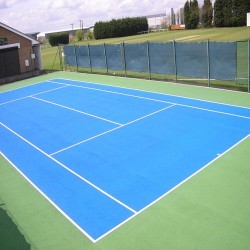 Tennis Court Construction in Abington Pigotts 3