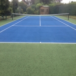 Line Marking Tennis Pitches in Ashley Moor 11