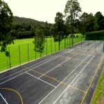 Tennis Court Specification in Aquhythie 6