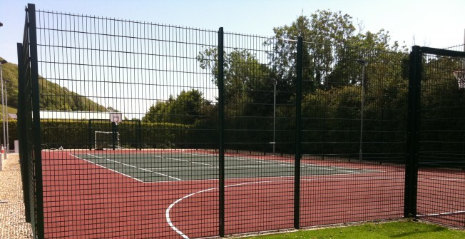 Tennis Court Accessories in Artington