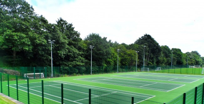 Tennis Facility Builders in Abergynolwyn
