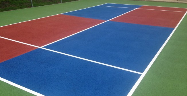 Tennis Court Specification in Abinger Hammer