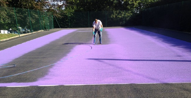 Tennis Facility Painters in Abertysswg