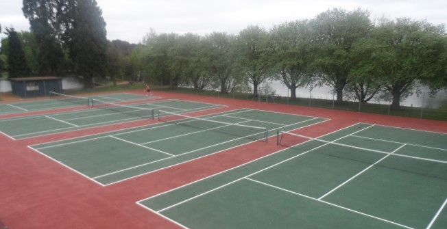 Sports Court Installers in Ford