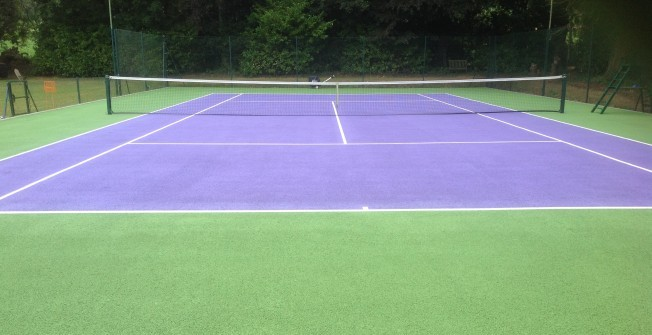Tennis Surface Contractors in Abbey St Bathans