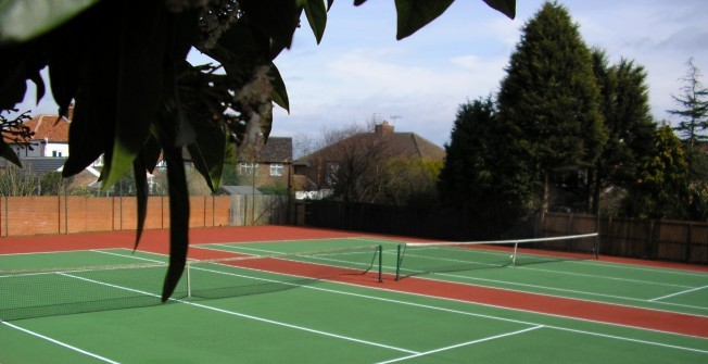Tennis Court Flooring Types in Alderminster