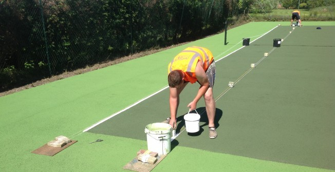 Tennis Facility Contractors in Swansea